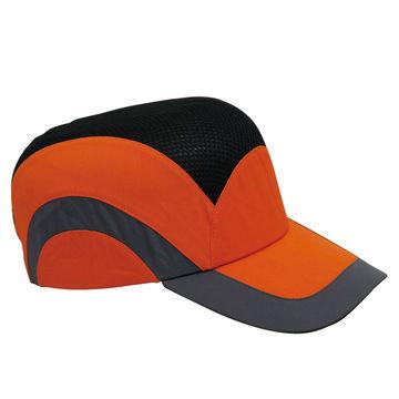 protective baseball cap style safety bump caps ce en812 mesh