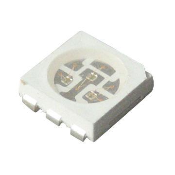 100x SMD-led 3 de colores RGB OSRAM lrtbgfug multiled PLCC 6 modellbau plomo