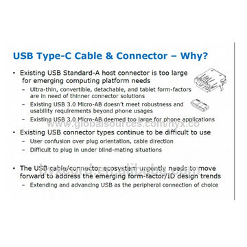 USB 3.1 Type-C Male to Type-C Male Connector Data Cable - Up to Double Data Transfer Speed 10Gbps