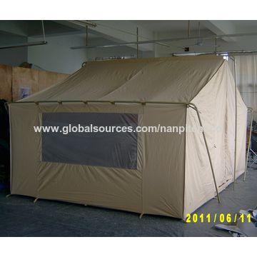 China Steel Structure Canvas Wall Tent