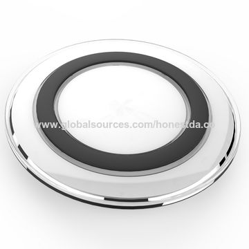 China QI Wireless Fast Charging Charger Pad Dock for Samsung Galaxy S6 Edge and Note 5
