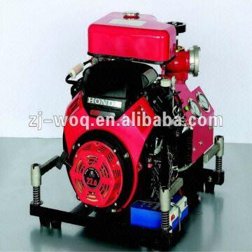 Bj-15a High Pressure Fire Pump Equipped with Honda Engine