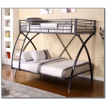 Metal Bunk Bed Detachable School Dormitory Beds Furniture Global