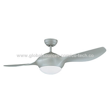 52 Inch Ceiling Fan With 2 Plastic Blades 3000k Led Dimmer Rf Remote Control Ul Cul Roval