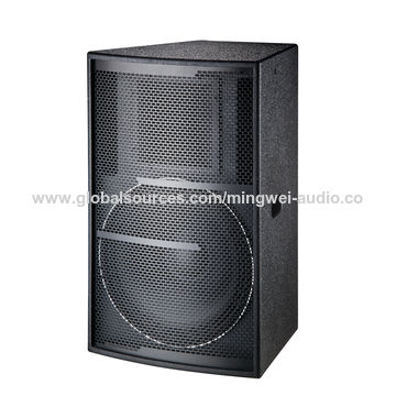 """China 2017 double 15"""" power professional passive party speakers"""