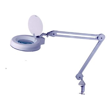 clamp on swing arm lighted magnifying lamp beauty hobby desklamp