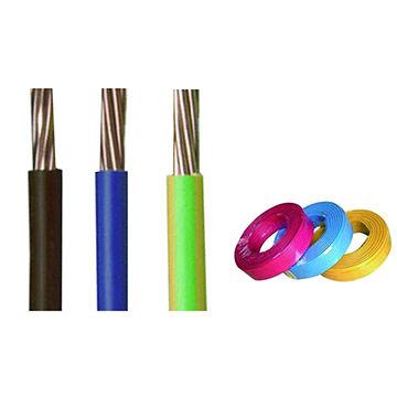 China Non Sheathed Copper Building Wire H07V-R / H07V-U 6491x Earth ...