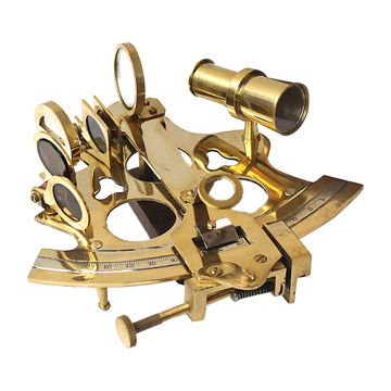 Solid Brass Sextant Maritime Table Top Nautical Sextant Collectible Vintage Gift