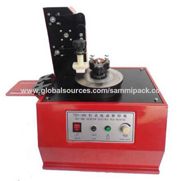 Desktop electric date pad printing machine