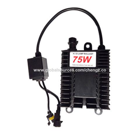 China Super bright 75w xenon lamp wholesale price H1 H3 H4 H7 H8 H9