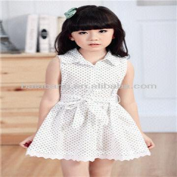 1158202883 On sale girls summer dress 1 Bright color perfect for children 2 Easy  matching good shaped 3 Whol
