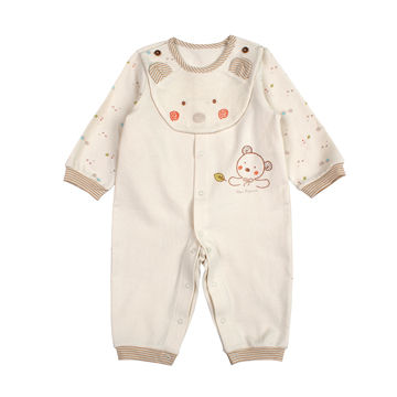 High quality baby organic cotton clothes made in Korea