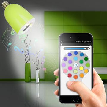 ligera Presidente App del del Bluetooth de la música LED de nyv0wOm8PN