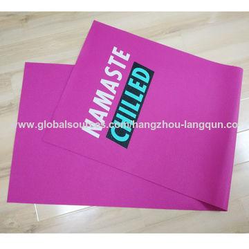 China Digital printed mat, eco PER, 11P free, 6mm