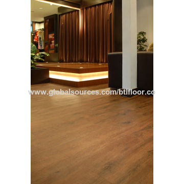 China PVC flooring luxury vinyl plank with phthalate free for living room
