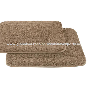 India Rectangular shape bath mat from Panipat Manufacturer: Vaibhav ...