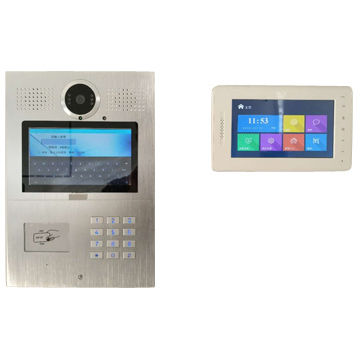 China Apartment Intercom Android Video Door Phone Smart Bell With Face Recognition