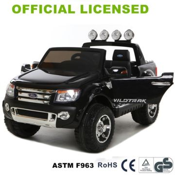 China Licensed Ranger Xls Pickup Truck Ride On Car For Kids 12v Battery Toy Cars
