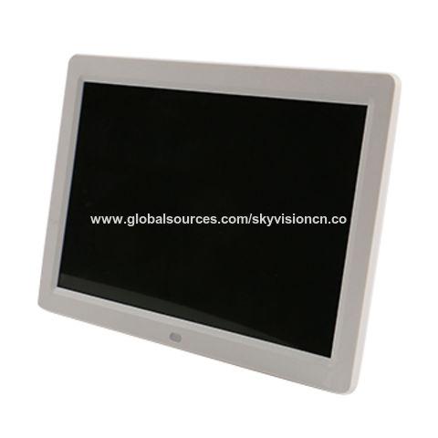 China 12-inch HD digital photo frame, narrow frame and slim body ...