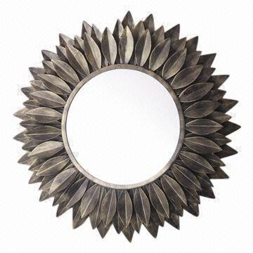 Round Mirror Iron Frame | Global Sources