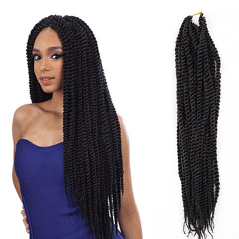 China Havana Mambo Twist Crochet Braids Hair 18 30 Root Ombre