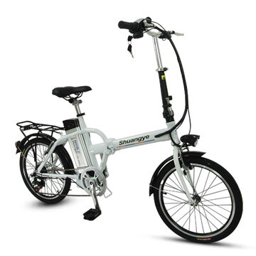 China 20-inch folding electric e-bike with CE EN15194