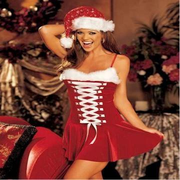 a5cca235055 China sexy christmas lingerie
