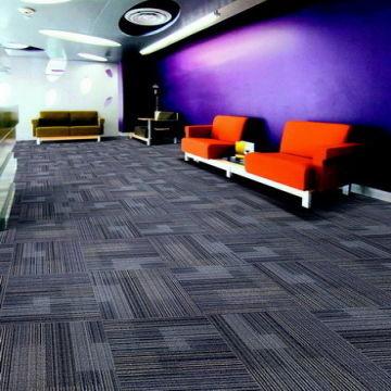 China 100 Nylon Office Carpet Tile