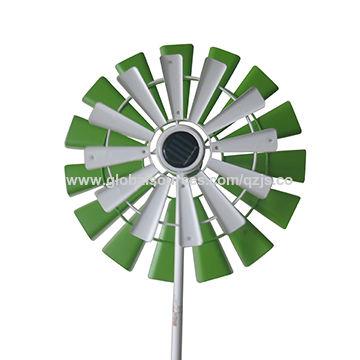 Garden Decorative Spiral Snowflake Wind