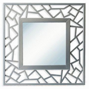 metal framed wall mirror with bsci audit report various sizes and colors are available on global sources