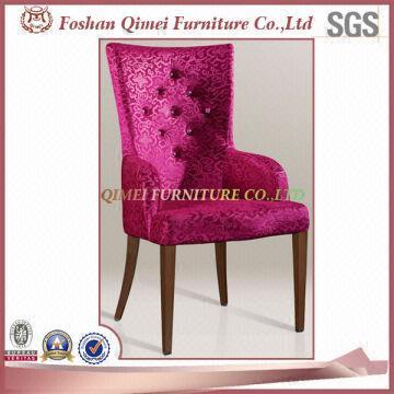 Armrest Upholstery Fancy Fake Wood Living Room Furniture Chair