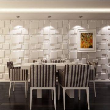Decorative 3D PVC Wall Panel for Wall, 3D Wallpaper, Textured