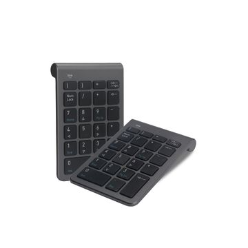China 2.4G wireless and wired slim number keyboard