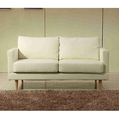 China Two Seater Pu Leather Sofa