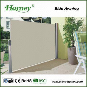 China 2015 Best Selling #1800 Retractable Side Awning Markise With CE