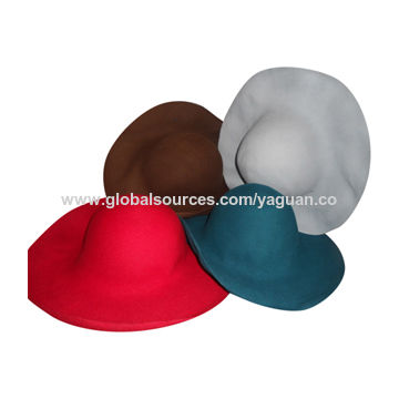 e5c7134b832 ... China wool felt hat bodies. capeline. hat cone. hood