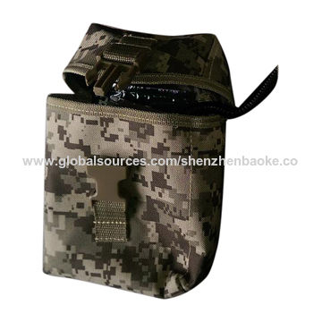 Camouflage military first aid kit belt pouch