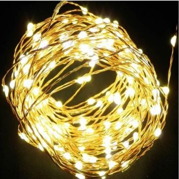china micro led copper wire long string lights for christmas holiday indoor outdoor decoration lighting