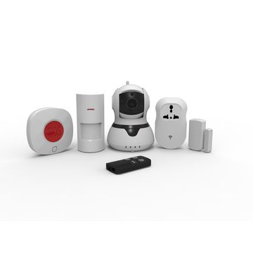Smart WIFI alarm Camera for smart home supports 64pcs wireless zones