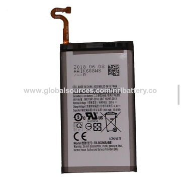China 0 cycle original 3500 mah Battery for samsung s9+ from