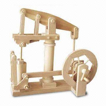 Woodcraft Timber Kit In Beam Engine Design Includes Sandpaper Pva