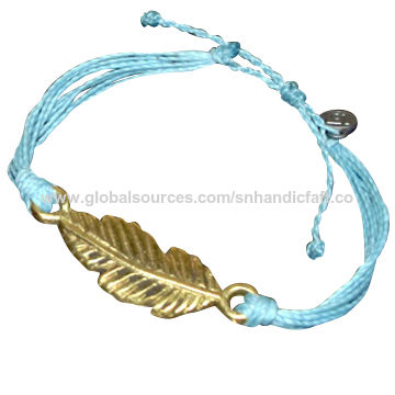 India Linhasita Nylon Waxed String Bracelet Pura Vida