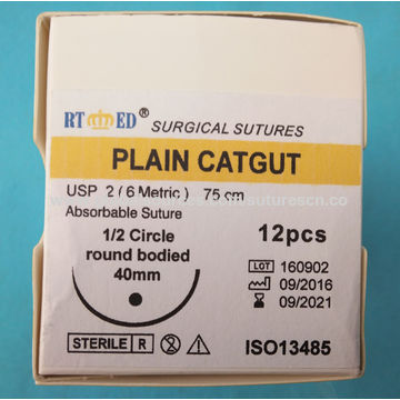 China Surgical Catgut Suture with Needle