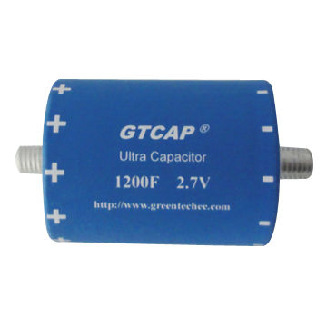 Ultra capacitors with Low ESR, 1,000,000-time lifecycle