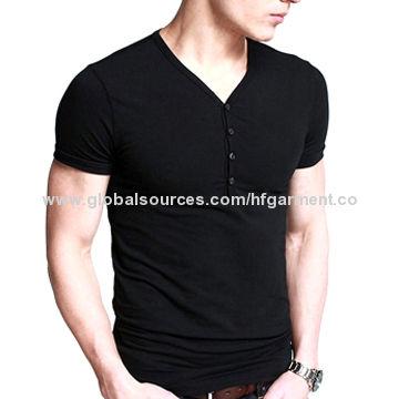 66055392a93 China Men s short-sleeved fitting T-shirt