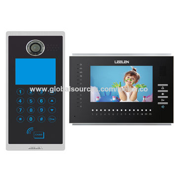 Apartment Door Entry System With 7 Inches Indoor Monitor With Keypad