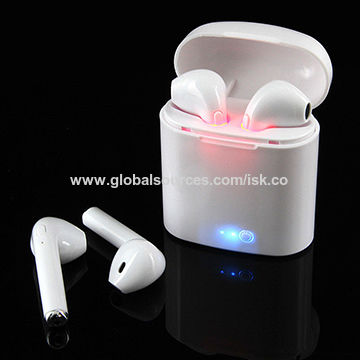 8629f658960 China HBQ i7 TWS Twins Wireless Bluetooth In-ear Earbuds Headphone &  Charger ...