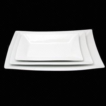 Square Ceramic Plate China Square Ceramic Plate & Square Ceramic Plate Available in Various Sizes Eco-friendly ...