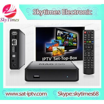 Factory Direct Offer MAG250 IPTV Box MAG 250 Linux system TV