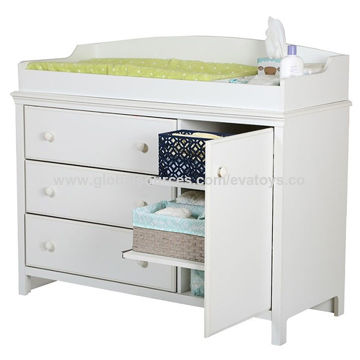 d1b3f7158fb0 China 2016 new design white wooden baby changing table W08C124 on ...